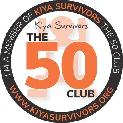 Kiya The 50 Club Badge
