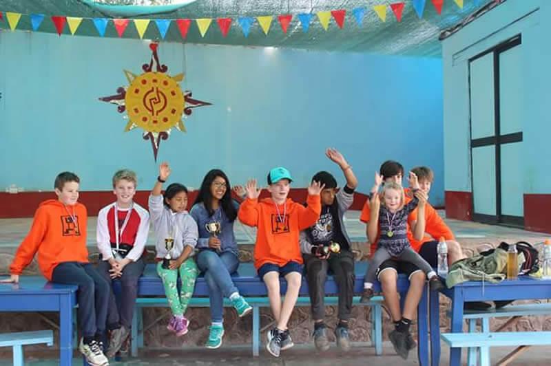 Kiya kids and volunteer kids medals image