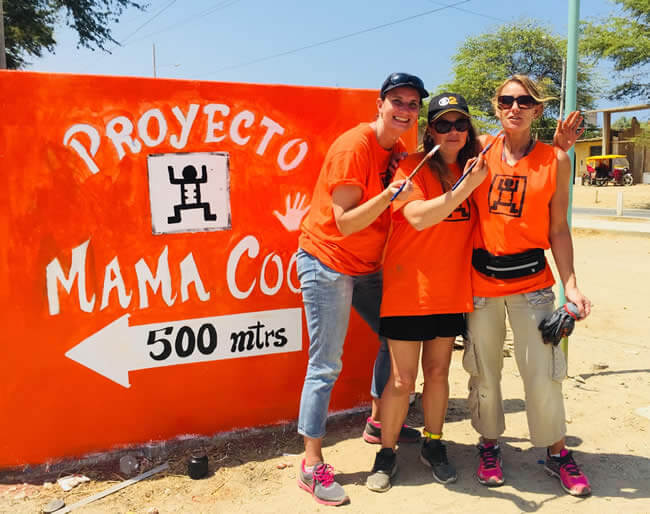 Mama Cocha Team Sign