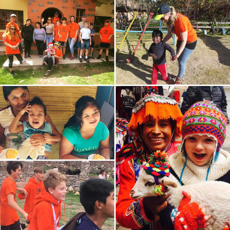 Kiya images of kids and volunteers image