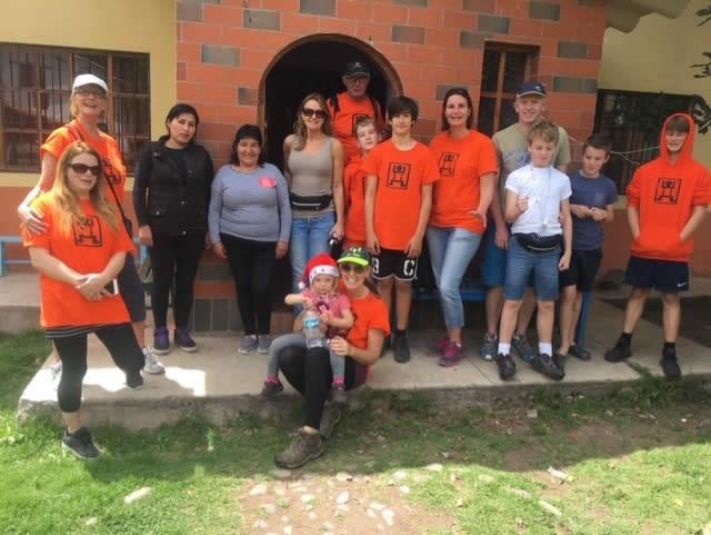 Team members Rainbow House image